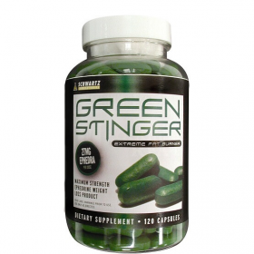 Green Stinger 120ct Ephedra Based Rapid Weight Loss Formula