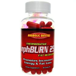 ephBurn 25 Ephedrine Plus Caffeine Thermogenic