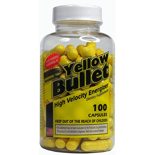 Yellow Bullet Real Ephedra Diet Pills Ma Huan #1 Diet Aid